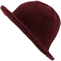 WITHMOONS Winter Wool Short Brim Womens Bowler Bucket Fodora Hat SLB1238