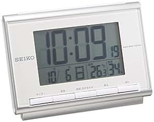 SEIKO CLOCK (セイコークロック) 目覚し時計 デジタル 電波時計 SQ698S