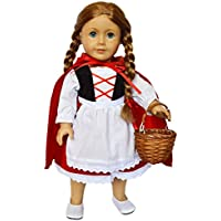 dollshobbiesnmore LittleレッドRiding Hood Outfit forアメリカンガール人形