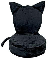 宮武 (MIYATAKE) コンパクトアニマル座椅子 ブラックキャット 猫 ねこ YS-557-CAT