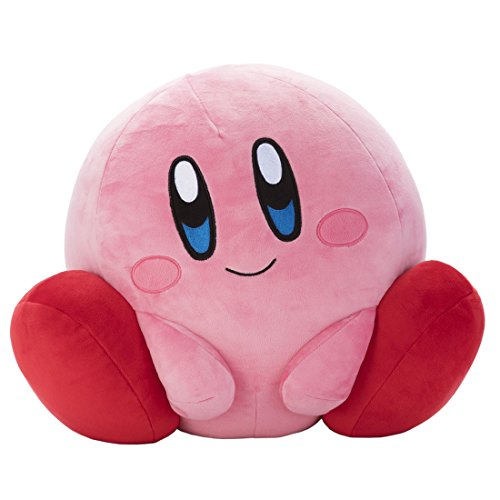 [해외]커비 Mocchi-Mocchi-Game style 커비 인형 앉은 키 약 30cm/Kirby of the star Mocchi-Mocchi-Game style Kirby Plush toy seated about 30 cm