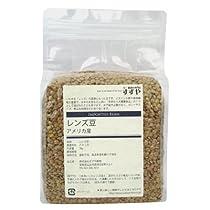 アメリカ産 レンズ豆 1kg チャック付