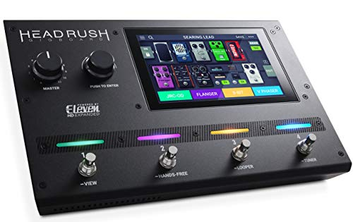 HeadRush GigBoard ギターFXとアンプモデリングプロセッサー【Eleven HD Expanded DSPソフトウェア、7インチタッチパネル、ルーパー、IRサポート、USBオーディオ】