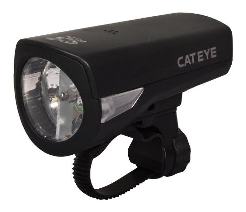 予報タップボイコットキャットアイ(CAT EYE) ヘッドライト ECONOM RECHARGEABLE [HL-EL340RC] ブラック ニッケル水素充電池 エコノムリチャージャブル