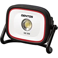 GENTOS(ジェントス) 充電式 ワークライト ガンツ GZ-300シリーズ ANSI規格準拠 投光器 現場作業や農作業に