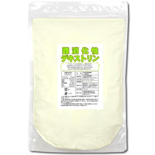 難消化性デキストリン(水溶性食物繊維)2kg(微顆粒品)(1...