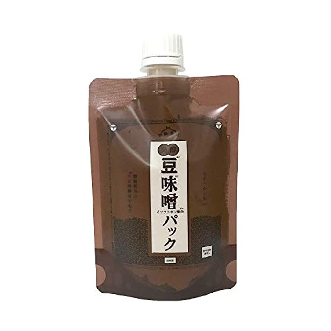束ねる多数の排他的和肌美泉 発酵•豆味噌イソフラボンパック 150g