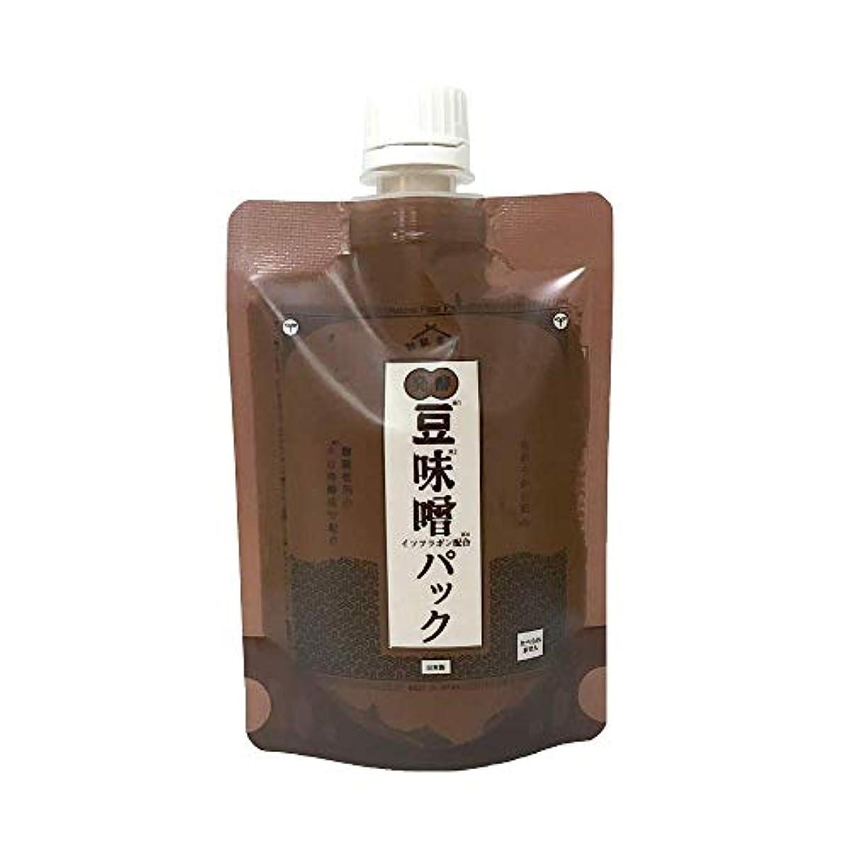 鉱石比類のないダーツ和肌美泉 発酵•豆味噌イソフラボンパック 150g