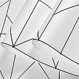 DOLDT1 北欧スタイルの黒と白のファッションラインシンプルな壁紙店ネイルショップホテルプロジェクトシンプルな不織布壁紙