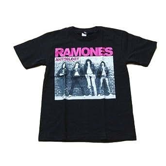 ラモーンズ Ramones パンクバンド プリントTシャツ L 黒 【並行輸入品】