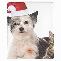 ゲーミングマウスパット キャラクター 猫と犬