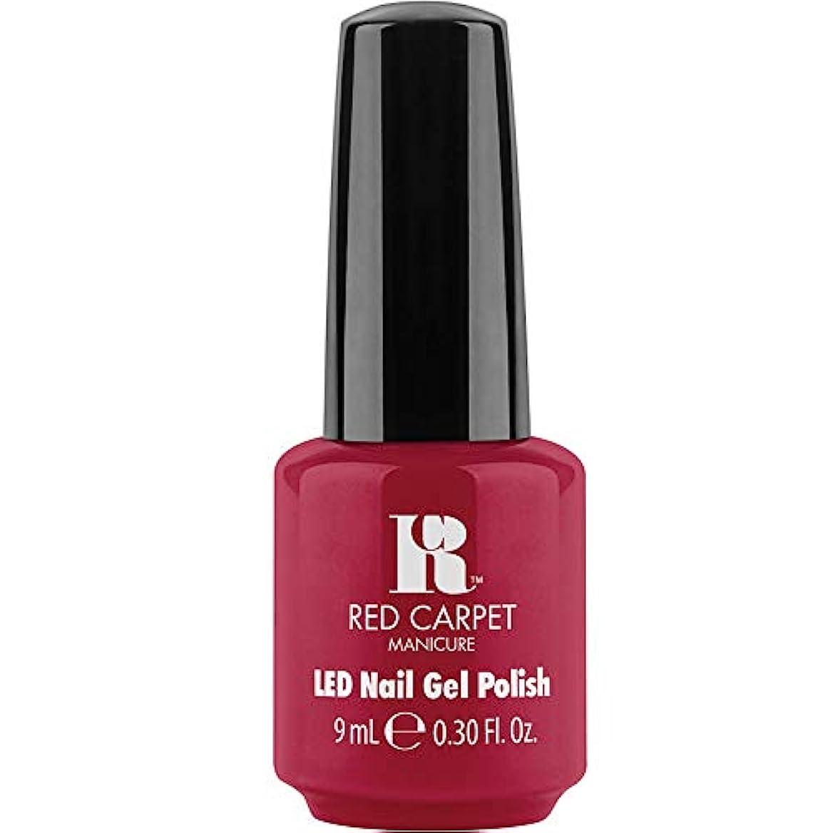 少年到着存在するRed Carpet Manicure - LED Nail Gel Polish - Sealed with a Kiss - 0.3oz / 9ml