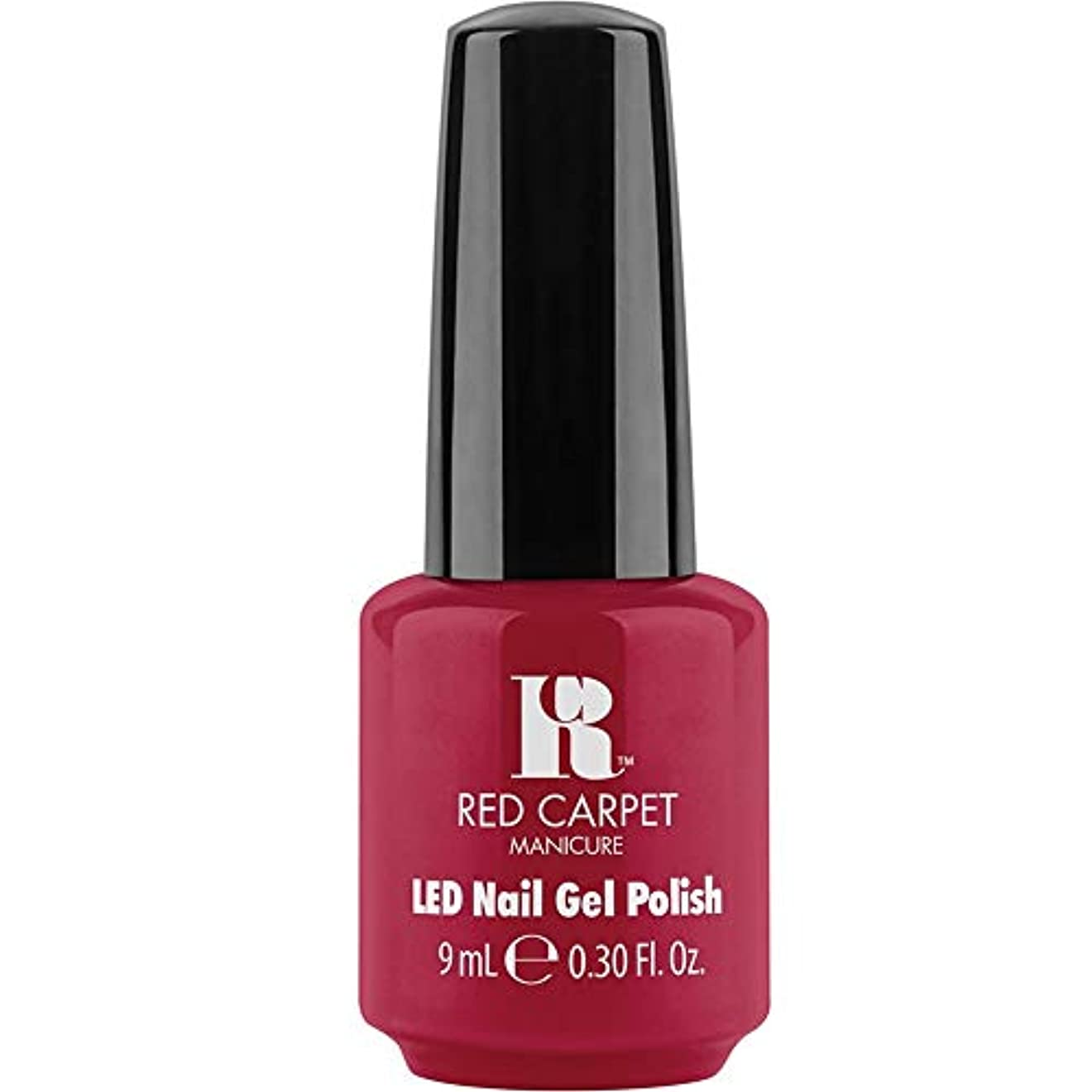 コミュニティリベラル私たち自身Red Carpet Manicure - LED Nail Gel Polish - Sealed with a Kiss - 0.3oz / 9ml