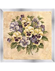 Pansies by Pamela Gladding – 12 x 12インチ – アートプリントポスター 12  x 12  Inch LE_111171-F9935-12x12