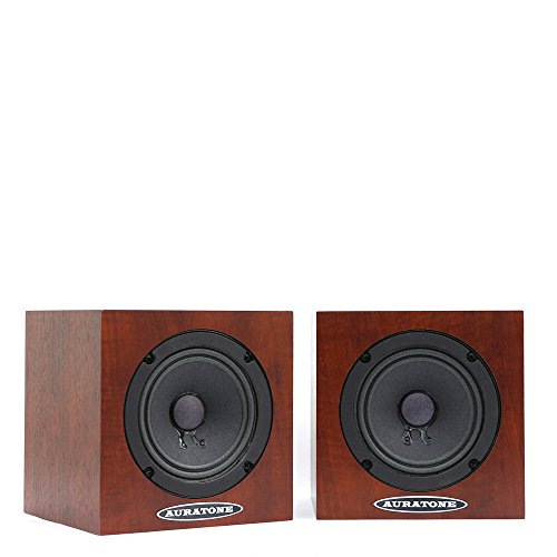 [해외]AURATONE (오라 톤) 5C Super Sound Cube (Pair = 2 개 1 세트)~ Woodgrain (우드)/AURATONE (Aura tone) 5 C Super Sound Cube (Pair = 2 pairs)~ Woodgrain (wood grain)