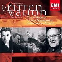BRITTEN: VIOLIN CONCERTO/WALTON: VIOLA CONCERTO(ltd.) by Maxim Vengerov