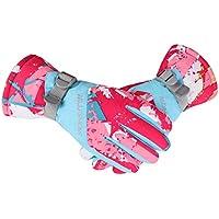 手袋 防寒手袋 レディース - ウィンター スポーツ に適用 アウトドア (登山 、 スキー 、 スノボー 、 サイクリング 、 自転車 、 原付き 、 バイク など) 用 撥水 滑り止め 耐磨耗性 換気性 通気性 速乾性 グローブ