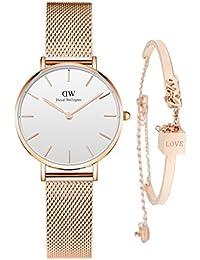 Daniel Wellington (ダニエル ウェリントン) 新品 腕時計 レディース Classic Melrose DW00100163 ブレスレット付き [並行輸入品] (ゴールド02)