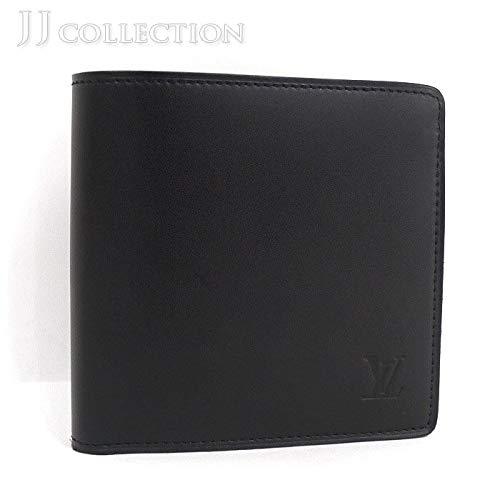 【中古】ルイヴィトン ポルトフォイユ マルコ 二つ折り財布 ノマド ノワール/ブラック M85016