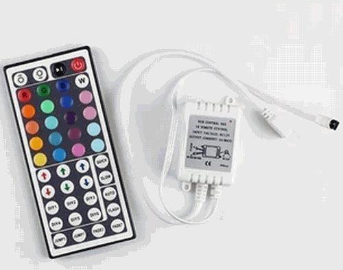 LEDテープライト コントローラ 44キーリモコン RGB ...