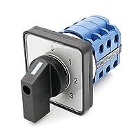 Baomain lw28–20/ 0123.3660V 20A 12端子4位置ロータリーカム切り替えスイッチ