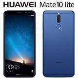 HUAWEI HUAWEI Mate 10 lite (オーロラブルー)5.9インチ SIMフリースマートフォン MATE10LITE/BLUE