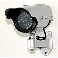 太陽光パネル搭載で半永久的に使用可能 防犯 ダミーカメラ LED 常時点滅で不審者を追い出す
