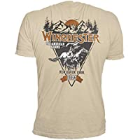 Four Seasons Design, Inc. Official Winchester Lone Rider Graphic Short Sleeve Men's Cotton T-Shirt