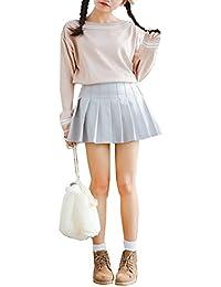 輝姫 ストライプセーター ニットウェア 無地ブラウス トップス 学院風 ボールネックセーター 無地セーター トレーナー プルオーバー