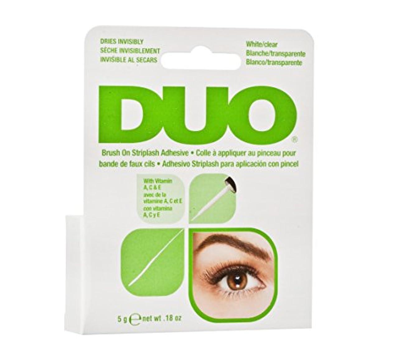 ハーネスマーティフィールディング繊細DUO Brush On Striplash Adhesive White/Clear (並行輸入品)