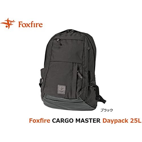 フォックスファイヤー バックパック メンズ カーゴマスターディパック CARGO MASTER Daypack 25L FOX5321745 ブラック