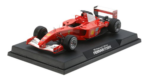 マスターワークコレクション No.117 1/20 フェラーリ F2001 No.2 塗装済み完成品 21117