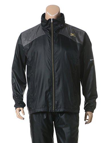 [해외](미즈노) MIZUNO 큰 사이즈 남성 발수 사모 홀더 로고 배색 전환 풀 Zip 스탠드 칼라 재킷/(Mizuno) MIZUNO large size men`s water repellent thermo holder logo color change change full-zip stand color jacket
