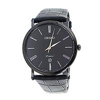 セイコー SEIKO プルミエ Premier クオーツ メンズ 腕時計 SKP401P1 ブラック[並行輸入品]