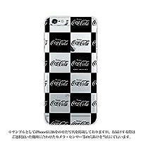 AQUOS Xx2 502SH ケース [デザイン:5.ブロック(黒)/クリアケース] コーラ グッズ コカコーラ coca cola ハード スマホケース カバー アクオス Softbank ソフトバンク 502sh