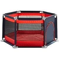 幼児のための保護フェンスのプレイペンズ赤ちゃんのプレイヤード赤ちゃんのためのホームフェンスのプレイペンターPlaymat Baby playpen baby (Color : Red, Size : 140 * 65cm)