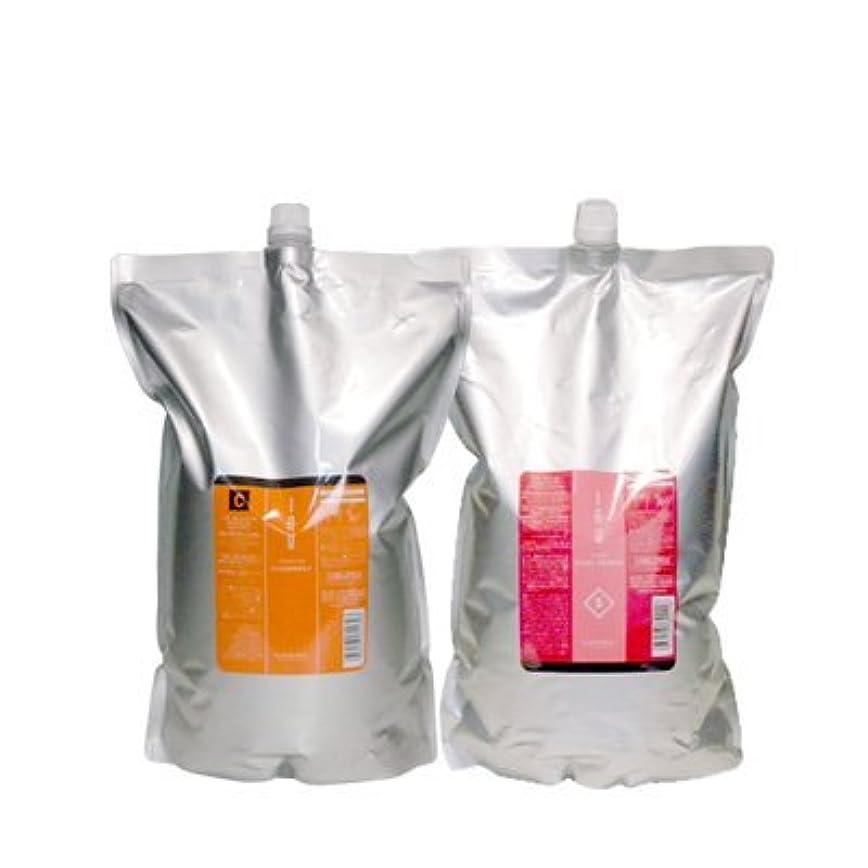 袋量でそっとルベル IAU イオ クレンジング クリアメント(シャンプー)2500ml&イオ クリーム シルキーリペア トリートメント2500ml 詰め替えセット