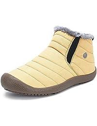 スノーシューズ レディース メンズ 防水 防寒 防滑の綿靴 雪靴 通学 通勤用