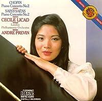 Chopin / Saint-Saens Piano Concerto No. 2 by Cecile Licad - piano