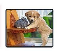 厚手3mmゲーム用マウスパッド – パーソナリティマウスパッド デザイン付き – ノンスリップゴムマウスマット – 寝る猫 one size