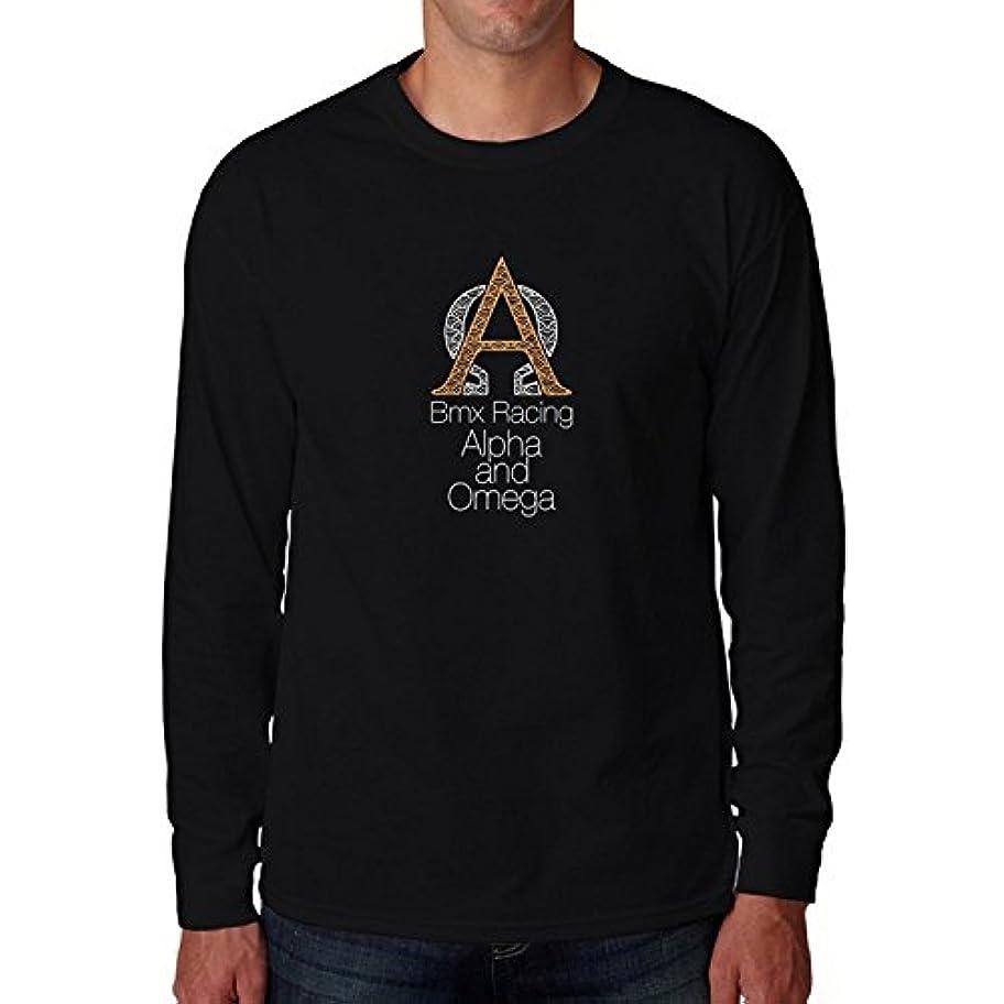 献身因子輝度Bmxレーシングアルファとオメガ2ロングスリーブTシャツ