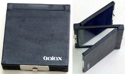 GALAX 本皮貼りクラリネット アルトサックス用 リードケース 両面タイプ/黒