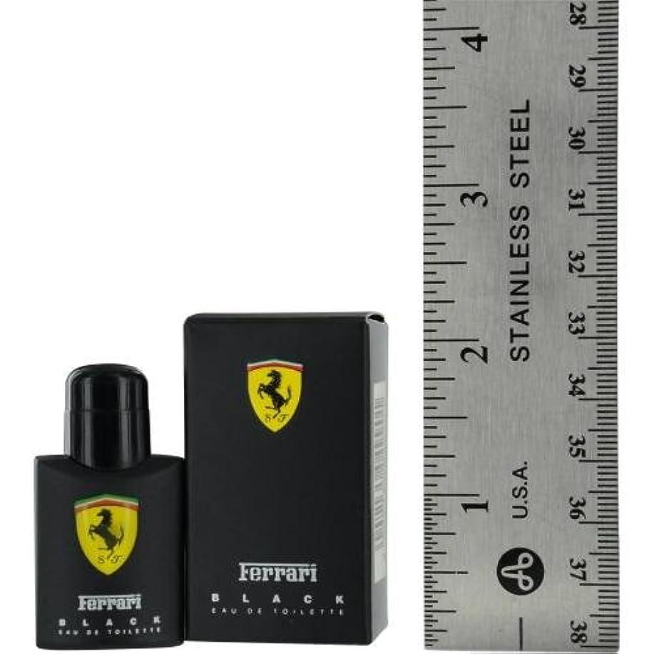焦げ国際バラバラにするフェラーリ フェラーリ ブラック EDT 4ml(ミニ)