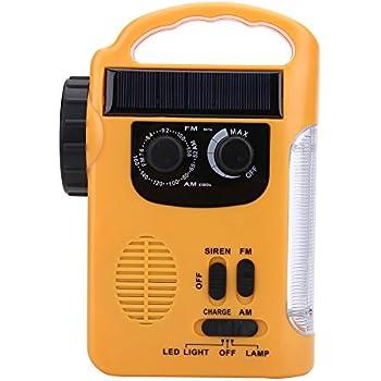 非常用 ラジオライト 多機能 防災ライト LED懐中電灯 手回し&USB&ソーラー充電 AM/FMラジオ 携帯電話充電可 高輝度 携帯 地震&緊急時&災害対策 プレゼント
