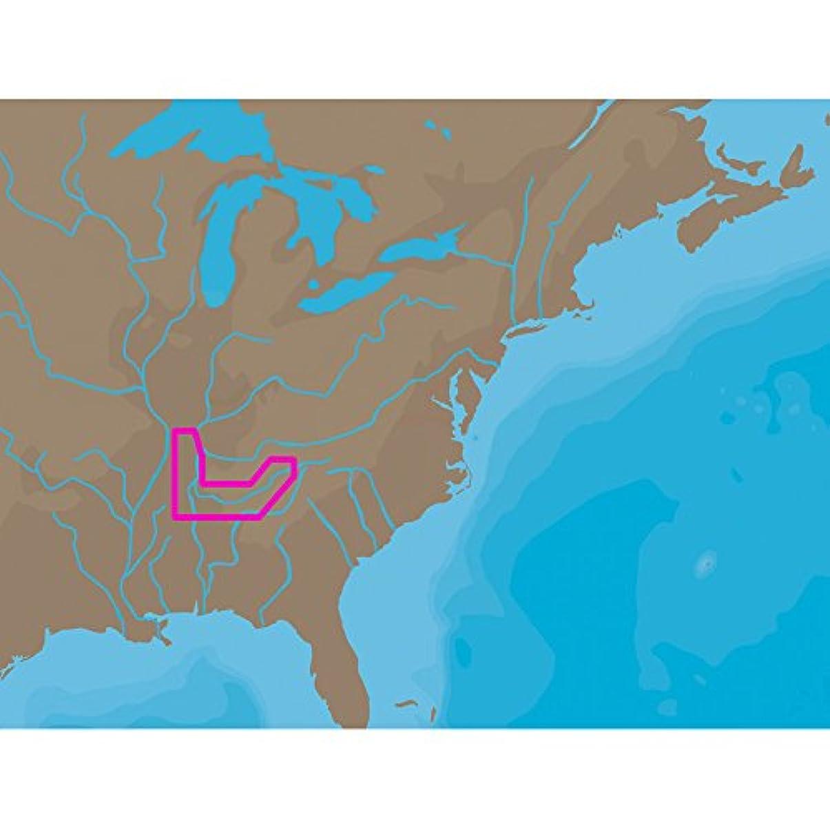 ジャーナリスト汚れた慈善C-MAP NT+ NA-C041 - TN River Paducah-Knoxville - C-Card