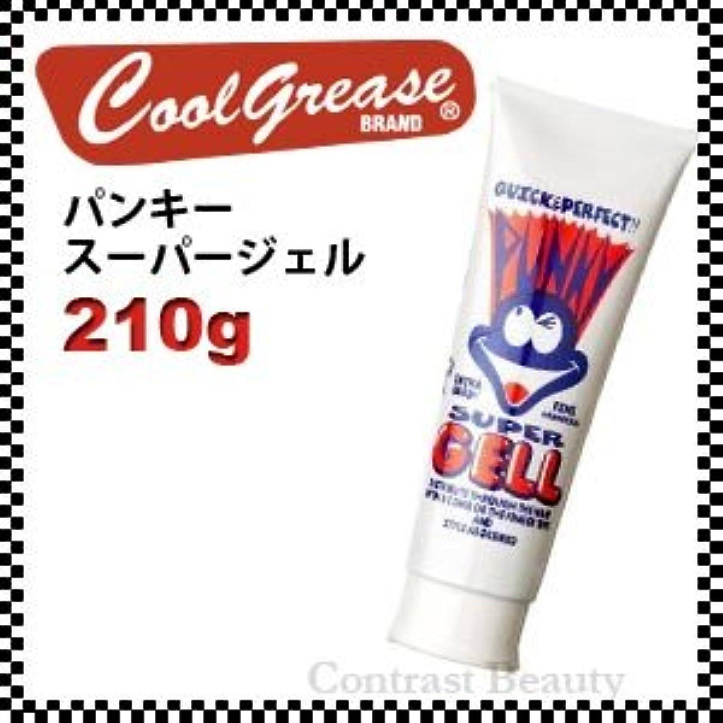輪郭発火する洗練された【X3個セット】 阪本高生堂 パンキー スーパージェル 250g