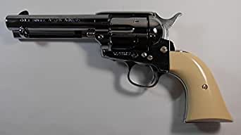 マルシン【ガスガン】 コルトS.A.A.45ピースメーカー・Xカートリッジシリーズ スーパークロームシルバー 6mmBB弾使用