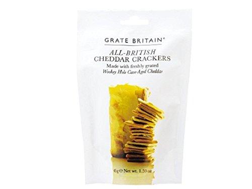 グレイトブリテン チェダーチーズクラッカー 45g