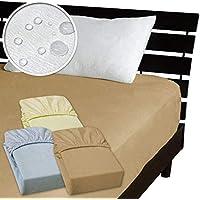 メーカー直販 ベッド用ボックスシーツ 防水シーツ 【介護シーツ?ベッド用防水シーツ】 シングル 100×200×30cm (ブラウン)