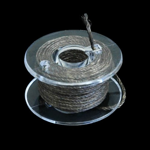 PDA工房 『導電糸(太め/自作用パーツ) 5m』~手袋に縫い付けてスマートフォン操作が可能に~